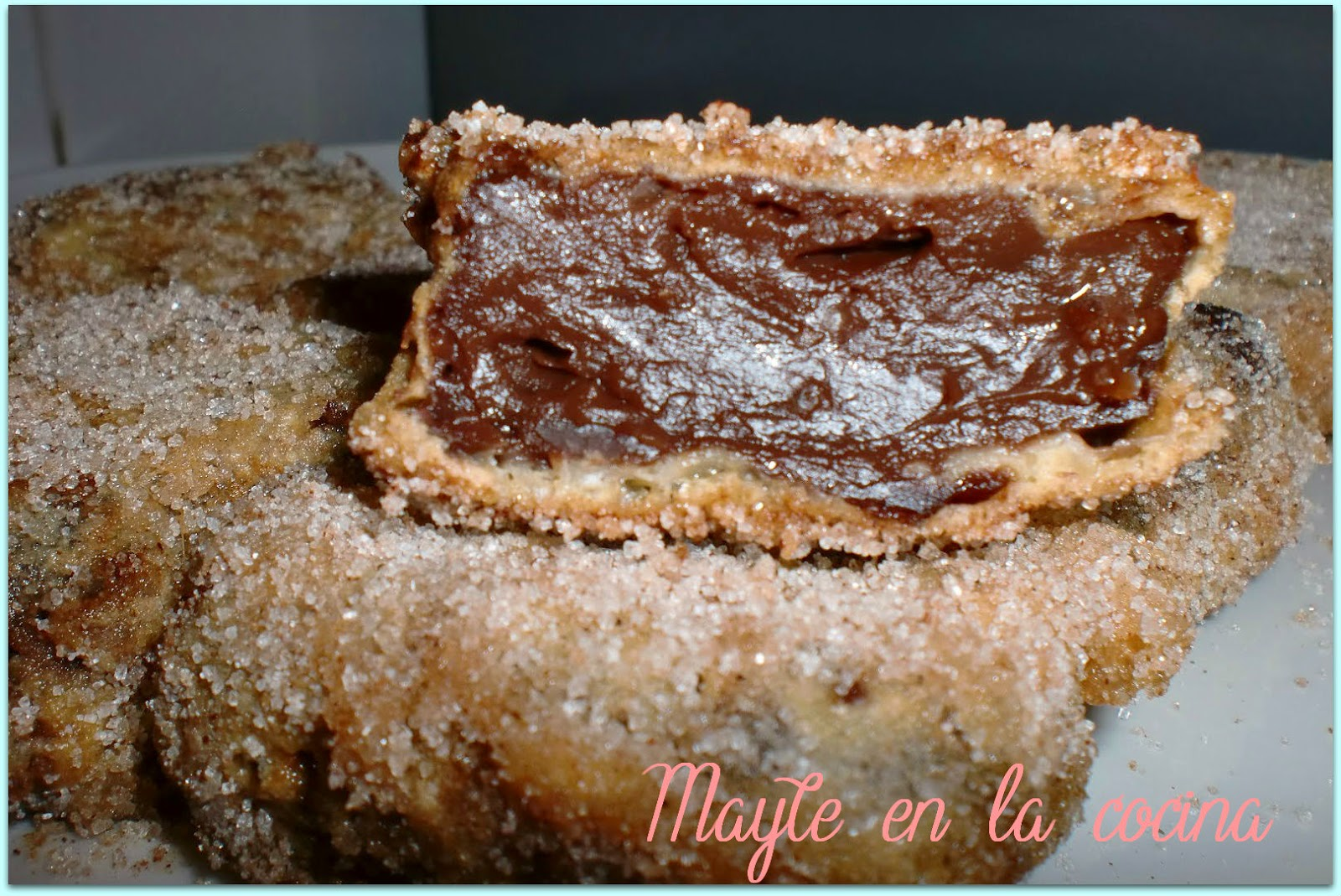 Receta chocolate frito
