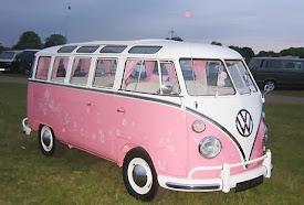 Pink Hippie Van