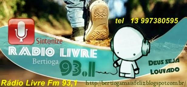 #Nossa Rádio Livre Fm em 93,1 sintonize#