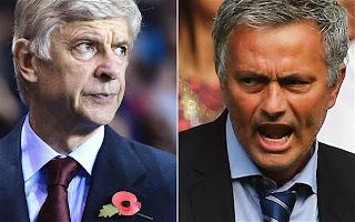 Chelsea's Boss Jose Mourinho Kicks, Say Fixture Favours Arsenal
