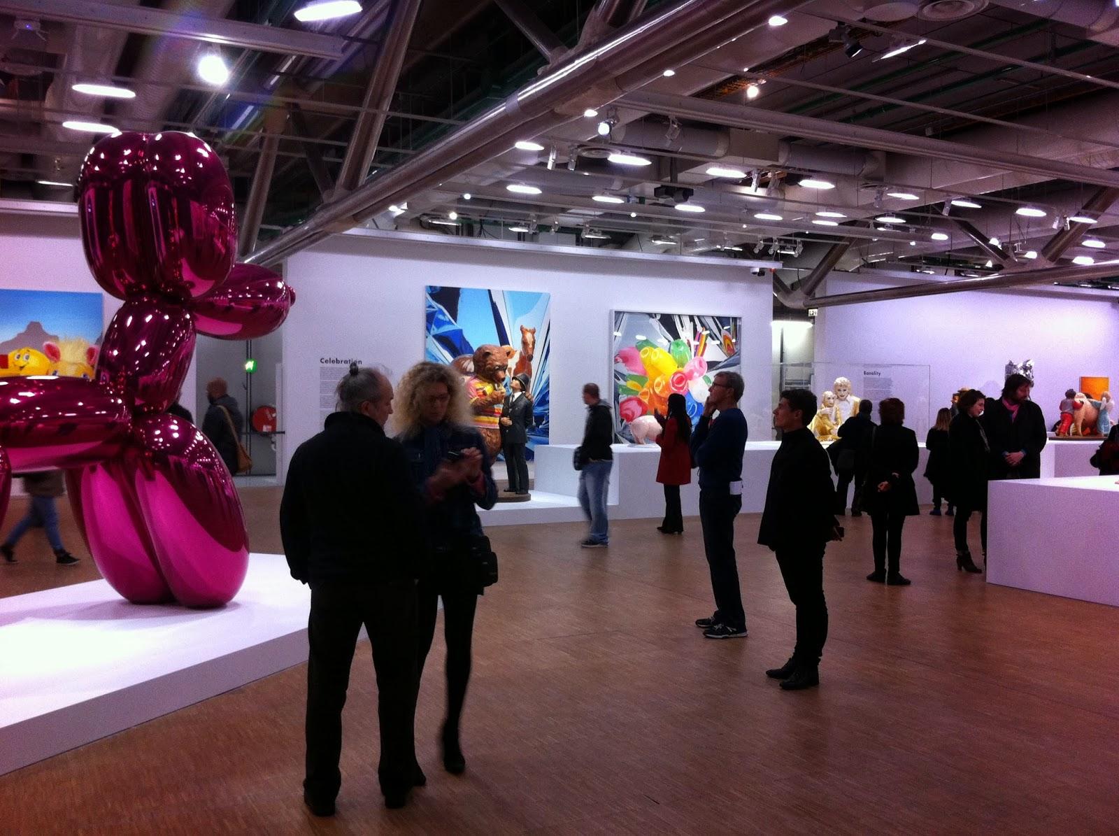 expo Koons Pompidou
