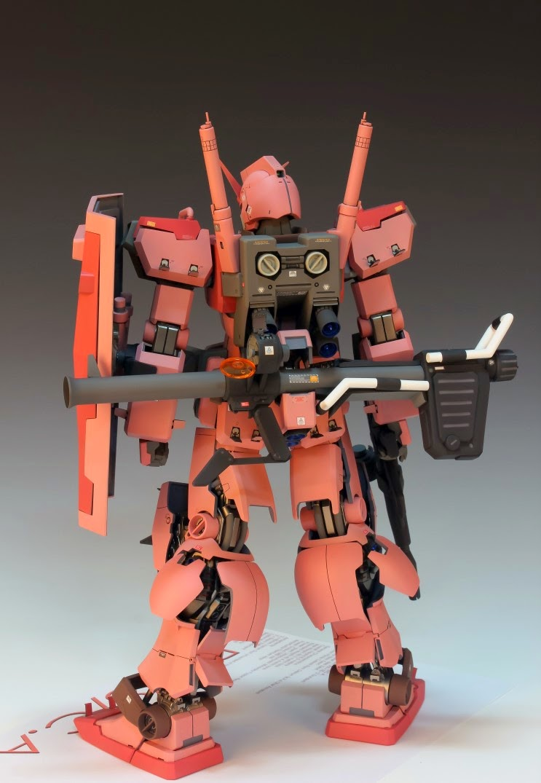 RX-78 CA KITS USED: 1/54 RX-78/C.A. Casval's Gundam Resin kit