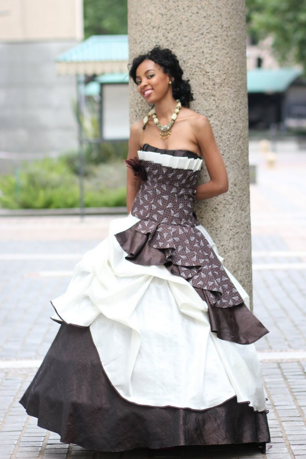 Collection of female traditional wedding attire in nigeria for South african wedding dresses
