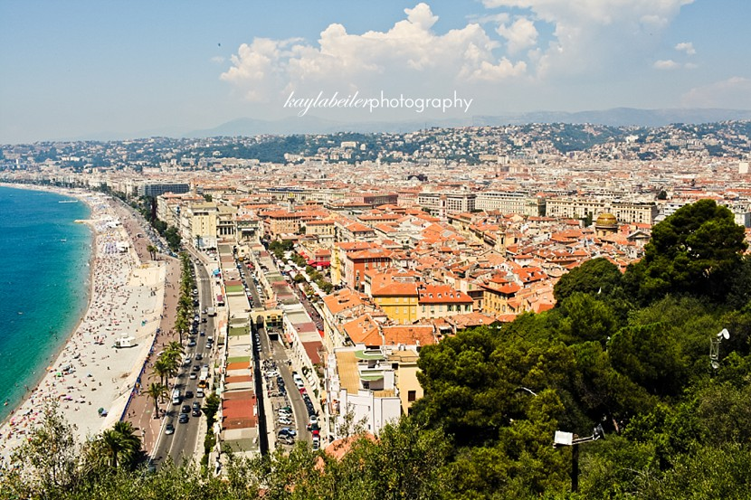 view of nice france photo