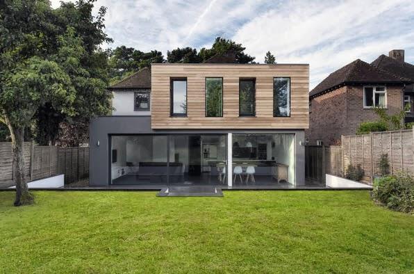 Ampliaciones de casas con dise os y planos de los cambios for Casa moderna 11
