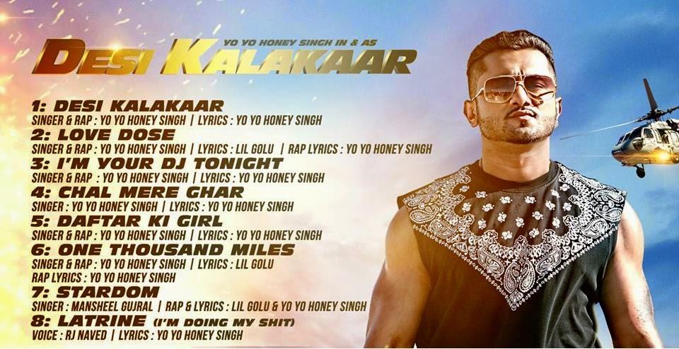 Desi Kalakaar Album
