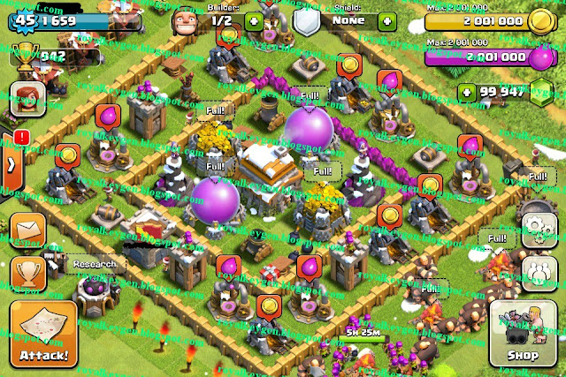 clans game after i used clash of clans hack tool royal version clash ...