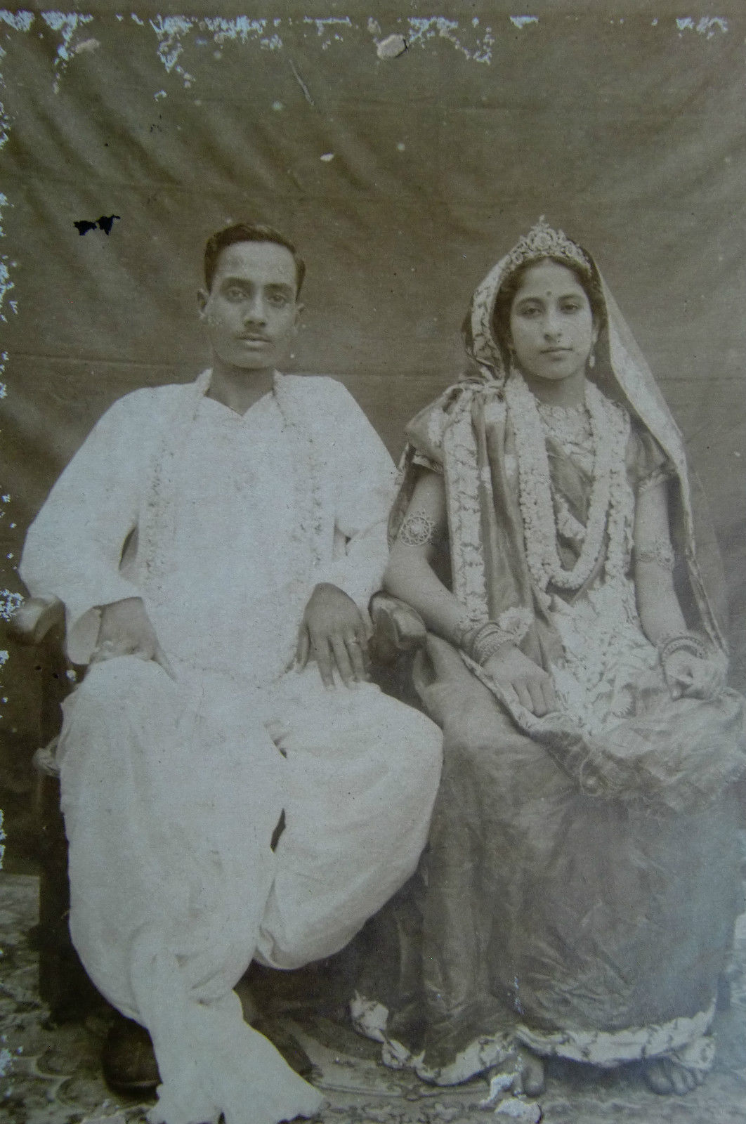 Newly Married Bengali Couple