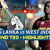Sri Lanka Vs West Indies - 2ND T20 - Highlights