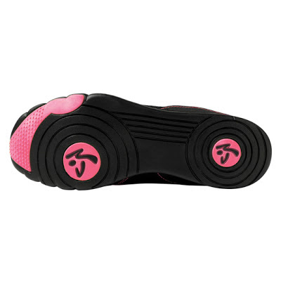 zumba zkickz shoes on sale pink black 30% off
