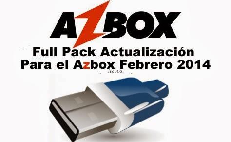 Full Pack Actualización Para el Azbox Febrero 2014