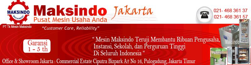 Toko Mesin di Jakarta