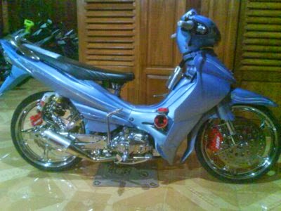 Modif Yamaha Jupiter Z Road Race