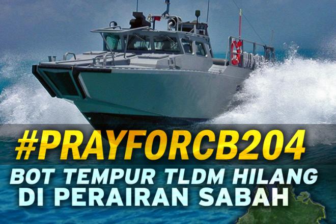 Kapal Perang Malaysia Hilang Dekat Perairan Kalimantan
