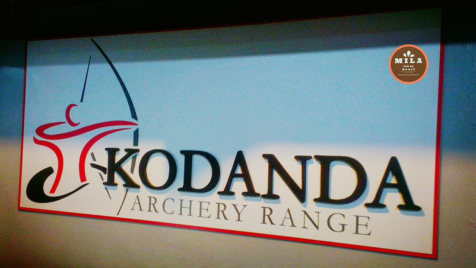 Kodanda Archery Range Sign