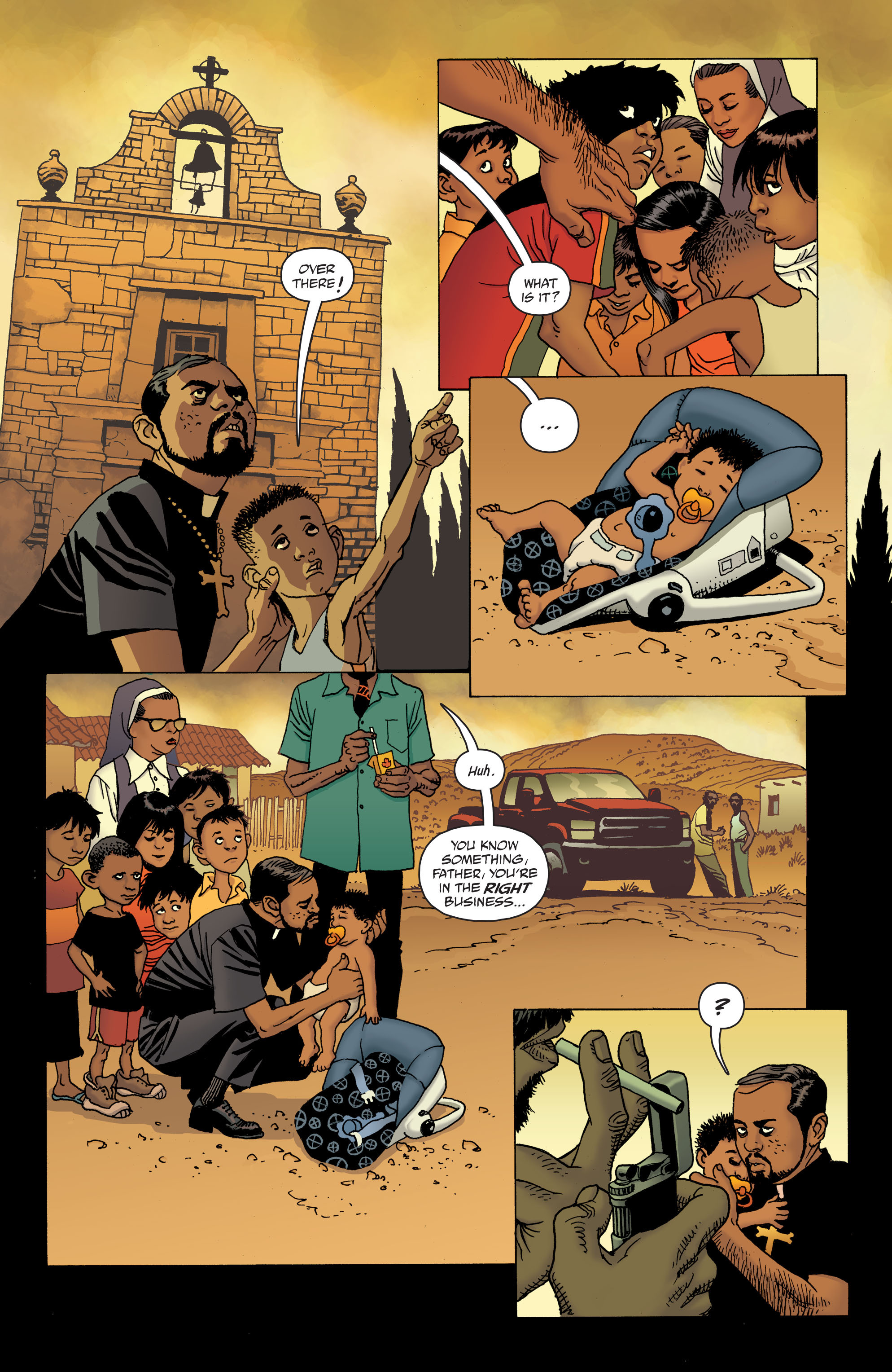 100 Bullets: Brother Lono Full Page 18