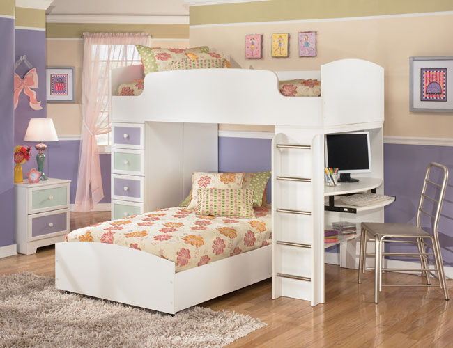 Outstanding Girls Loft Bed Bedroom Ideas 650 x 500 · 67 kB · jpeg