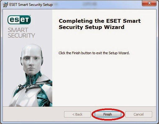 ESET Smart Security 7.0.317.4 Final Full version setup finished