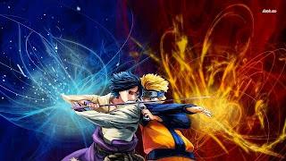 Naruto Shippuden vs Sasuke Uchiha wallpaper