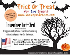 Trick or Treat for the Troops!