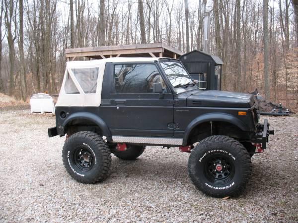 1988 suzuki samurai offroad 4x4 cars. Black Bedroom Furniture Sets. Home Design Ideas