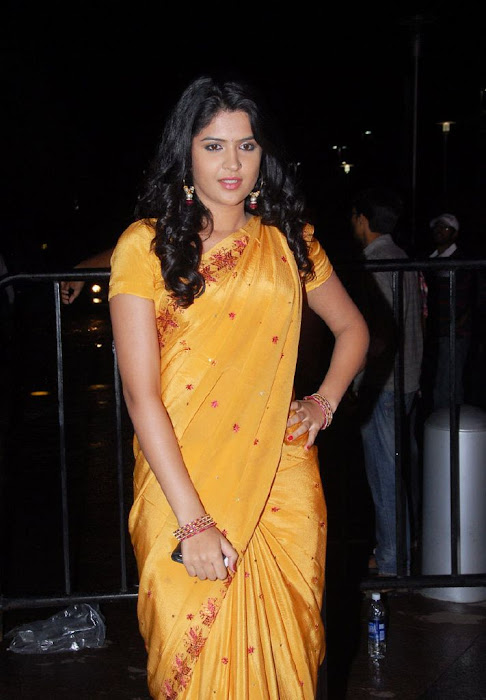 deeksha seth in saree photo gallery