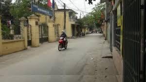đường vào rộng rãi chung cư giá rẻ Hoàng Đạo Thành