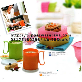 TupperwareRaya-Katalog Tupperware Reguler 2013, jumbo mug