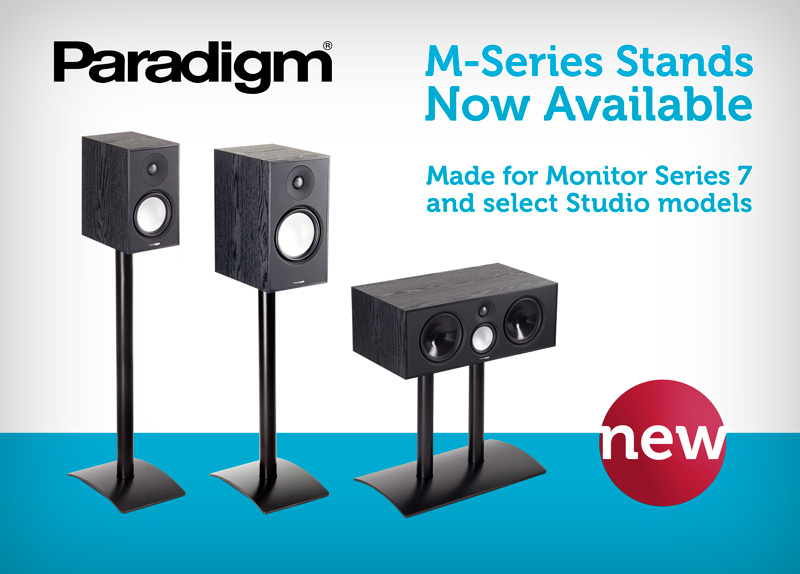 Paradigm blog news updates introducing paradigms m series we are very pleased to announce paradigms newest line of speaker stands the m series designed for use with monitor series 7 bookshelf and center channel thecheapjerseys Gallery