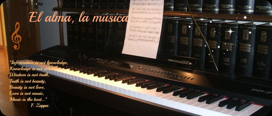 El alma, la música