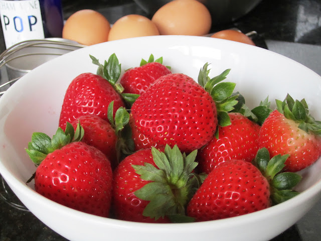 Late summer strawberries