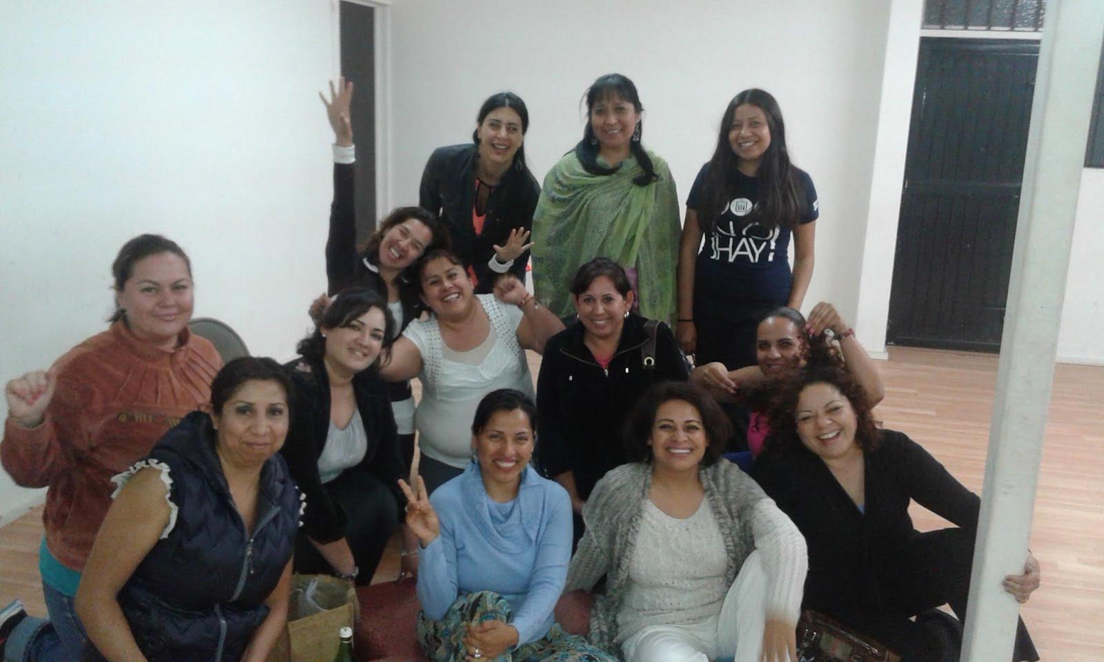Un gusto meditar y conocer la energía de las Mujeres