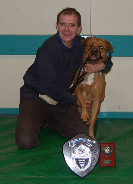 Most improved dog and handler trophy.