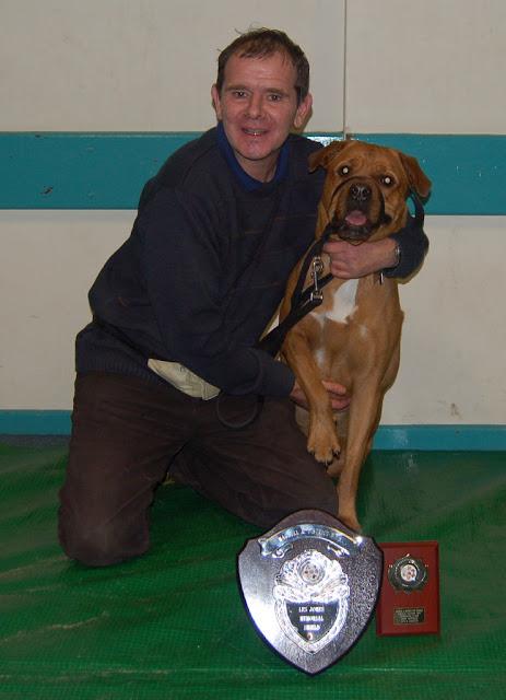 Most improved dog and handler trophy.