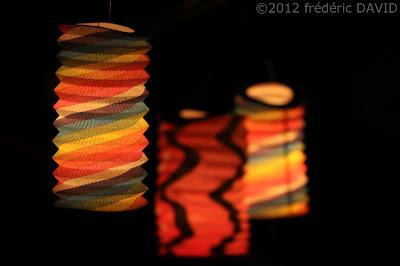 spectacle feu lampions déambulation DEPAYZ'ART Saint-fargeau-Ponthierry Seine-et-Marne