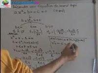 Résoudre une équation de second degré