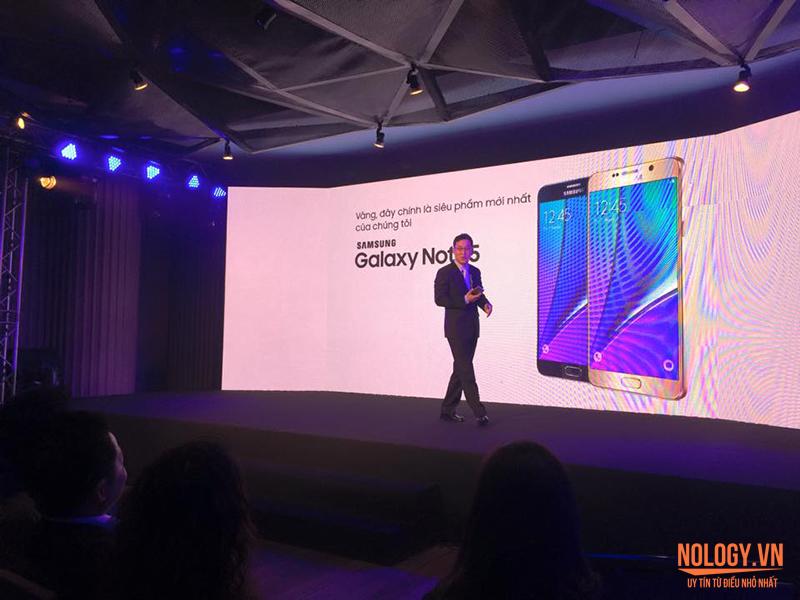 Samsung galaxy note 5 chuẩn bị được bán ra tại Việt Nam