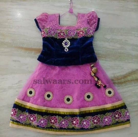 Pretty Colors Floral Lehenga