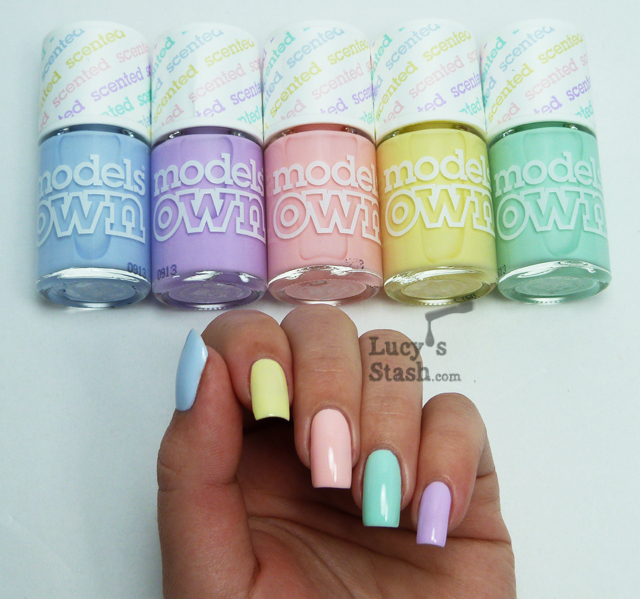 Lucy's Stash - Models Own Fruit Pastel Collection