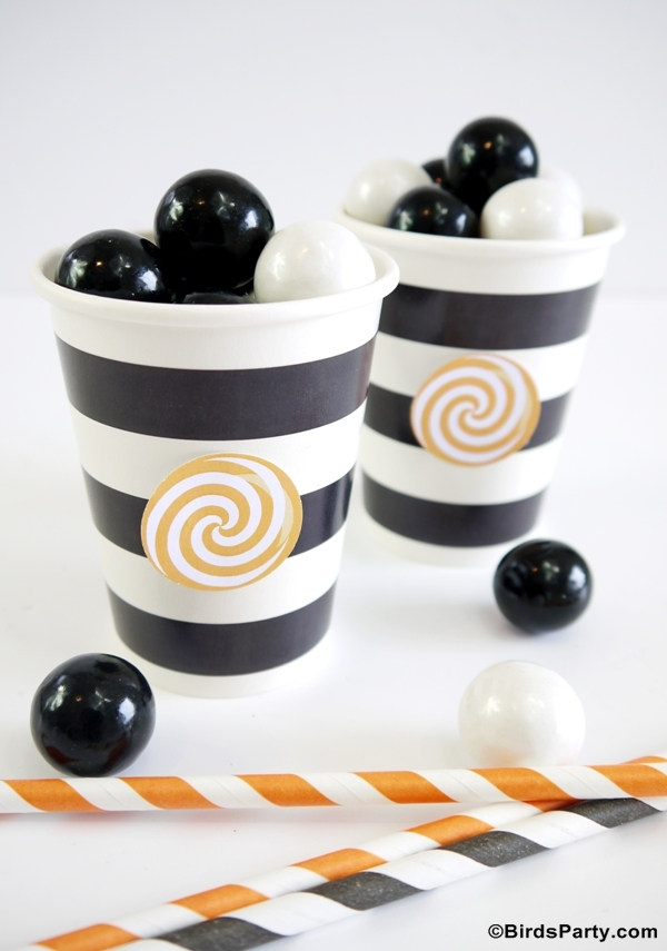 Halloween Desserts Table Ideas and Candy Crafts