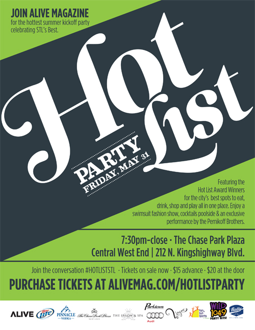 Giveaway: 2 VIP Tickets to Alive Hot List Party! [closed]