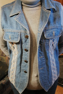 Jean Vest Refashion
