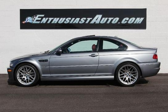e46 m3 motoring used 2005 bmw m3 coupe 29 990 73k oh. Black Bedroom Furniture Sets. Home Design Ideas