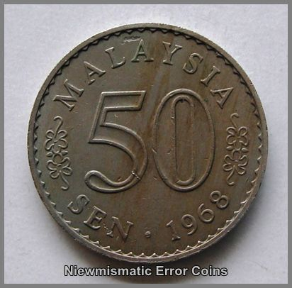 1968 50 cents Coin