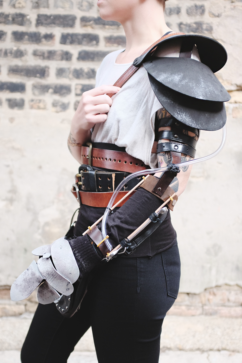 DIY Mad Max Imperator Furiosa Halloween Costume — Mini Penny Blog