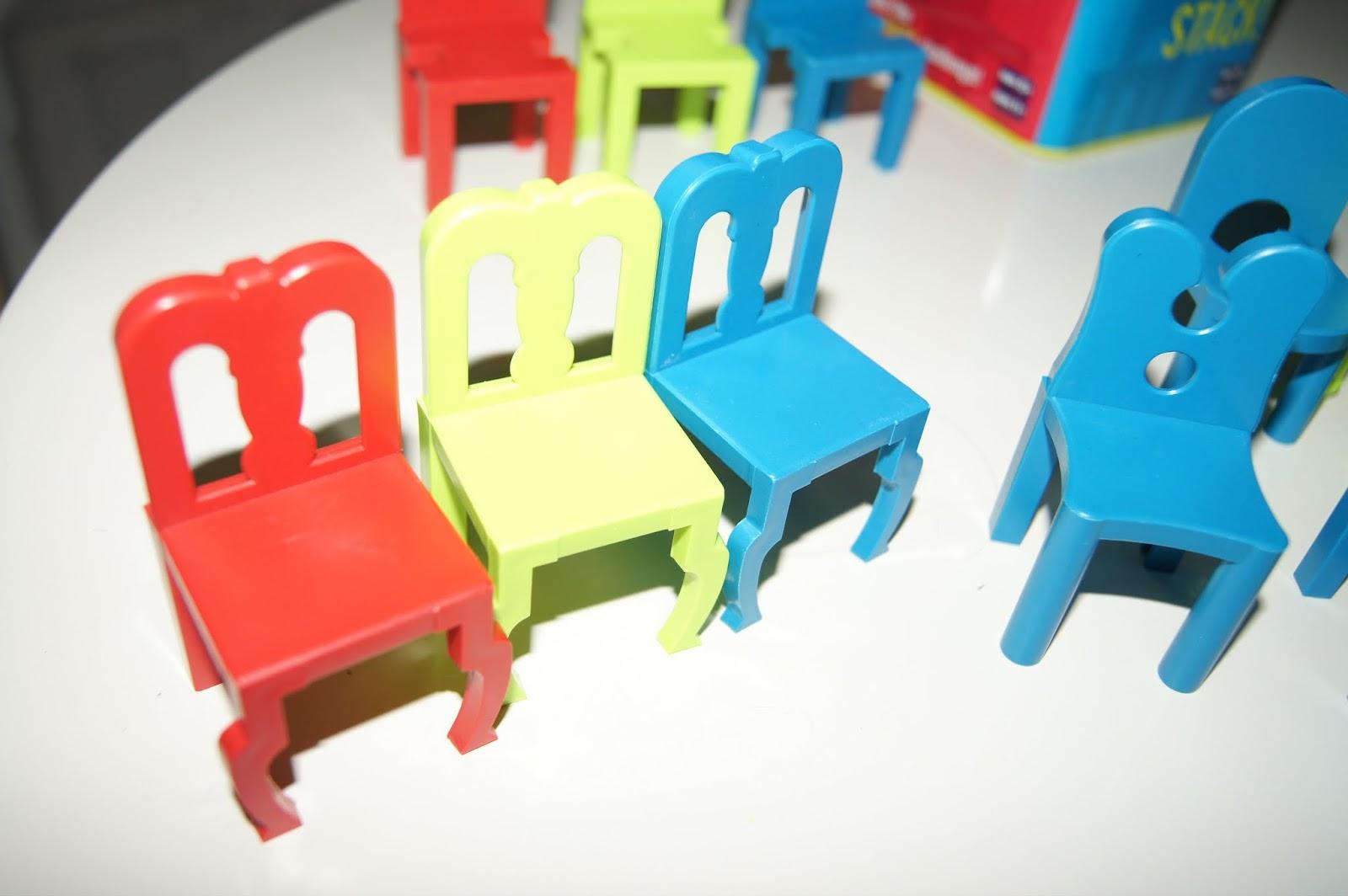 Family Fun Games Fun Stacking Balancing Chairs Game