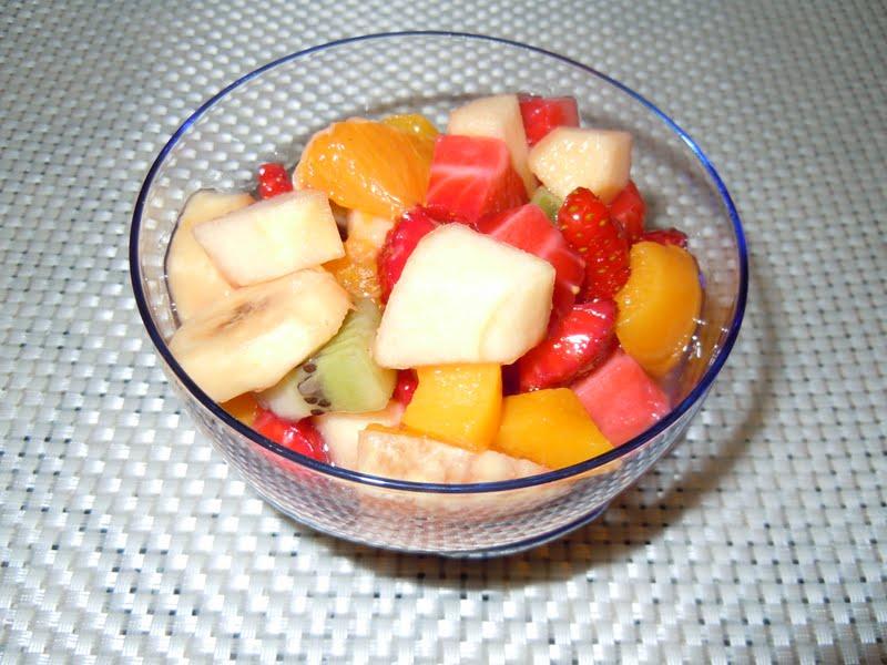 El blog de debora mis recetas del dia a dia macedonia de - Macedonia de frutas thermomix ...