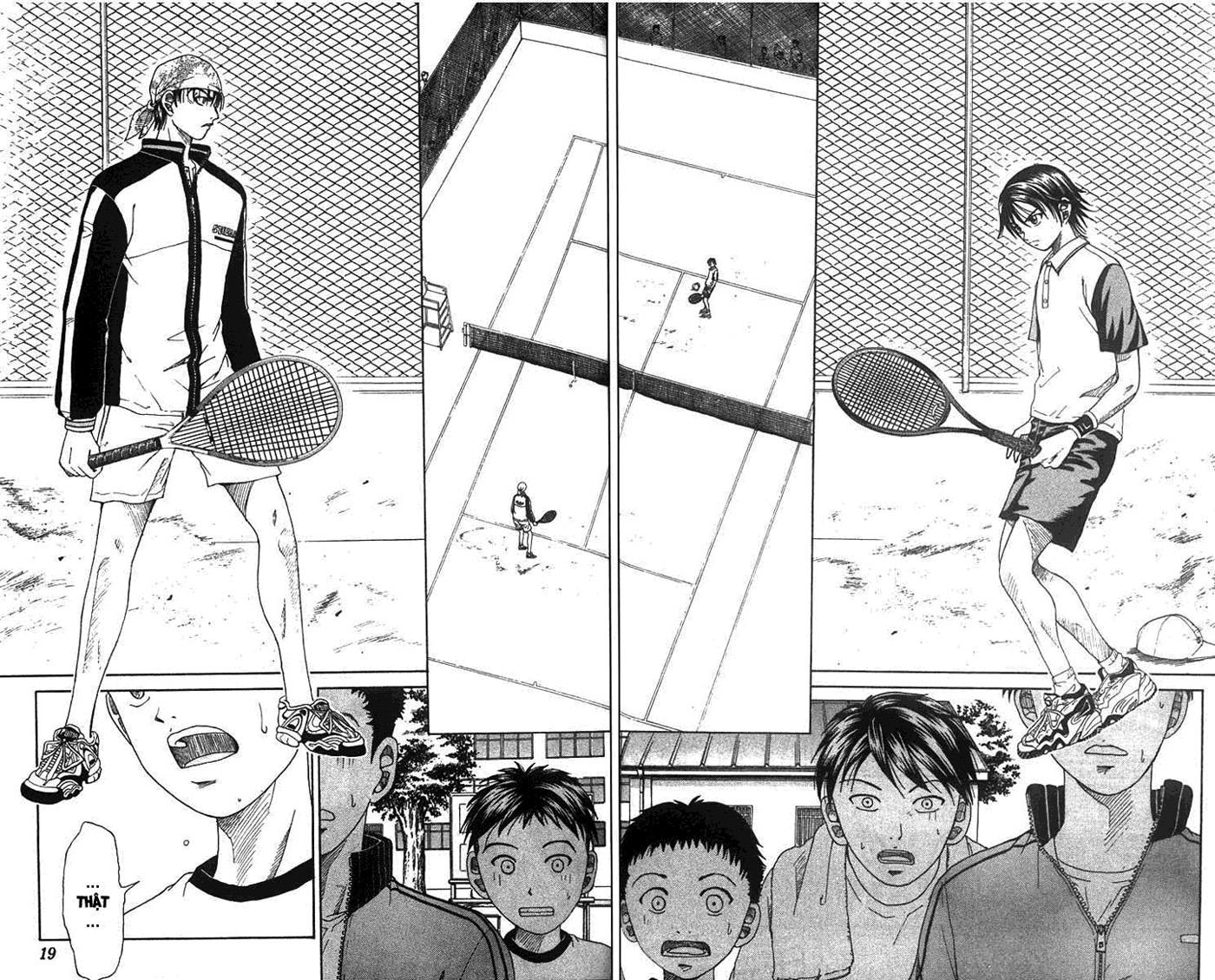 Prince of Tennis chap 8 Trang 16