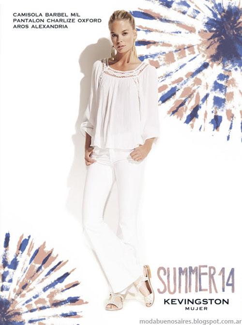 Kevingston Mujer verano 2014 2014. Moda 2014.
