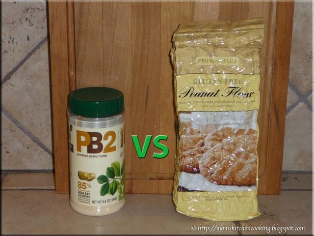 pb2 verses peanut flour